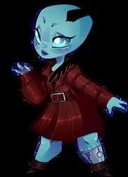Chibi Commission #1 - LillytheKitsune