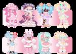 Chibi Adoptable - Cuties in Pastels [SALE!! 2/8 ]