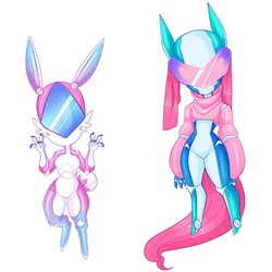 Chibi Adoptables - Simple Androids [CLOSED]