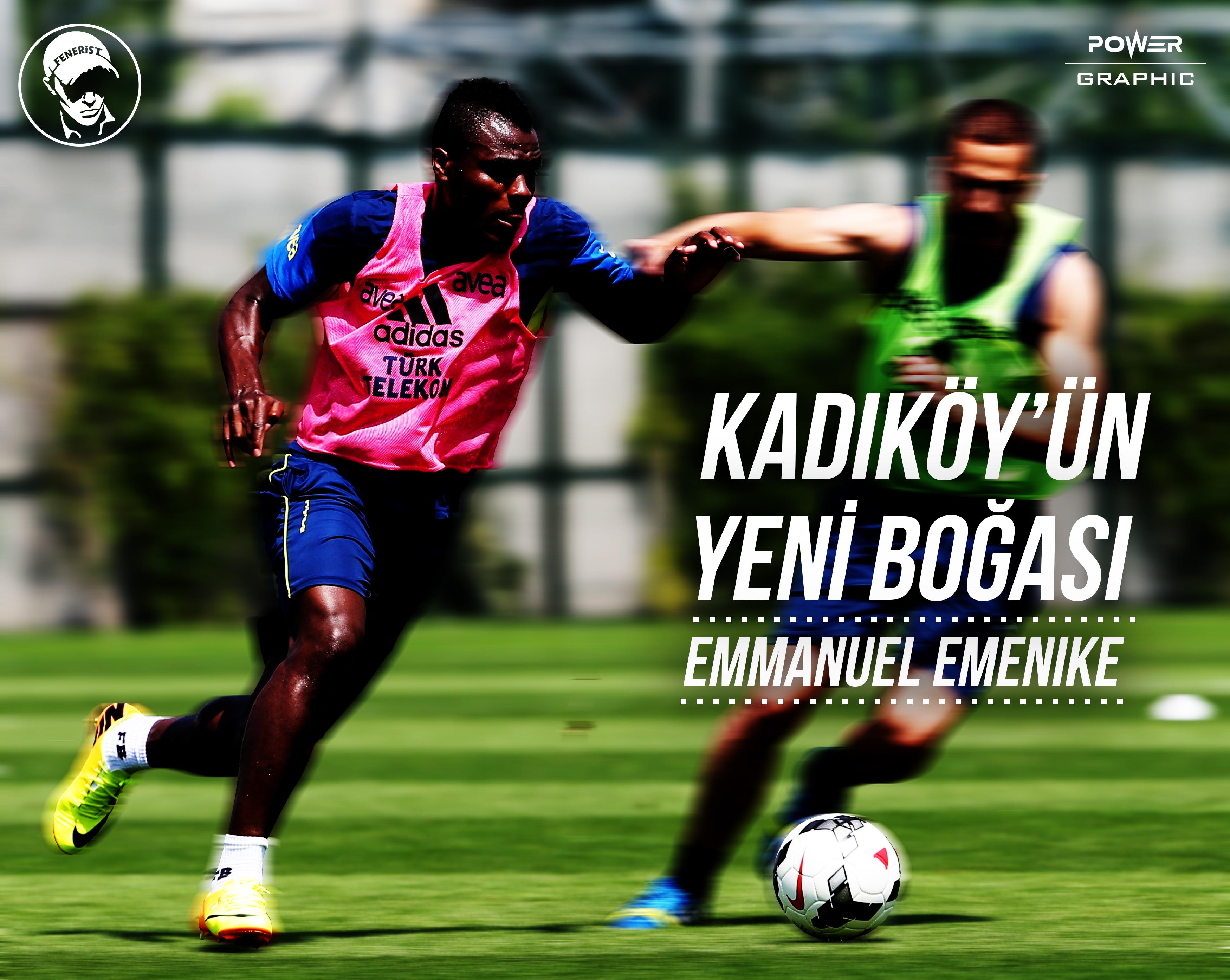 Kadikoy un Yeni Bogasi Emmanuel Emenike by Power Graphic on