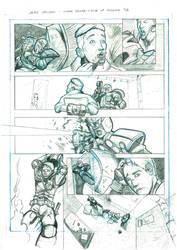 Judge Dredd: Cycle of Violence (2016) 5/6 by JaimeChocano