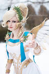 Winged victory Mercy cosplay