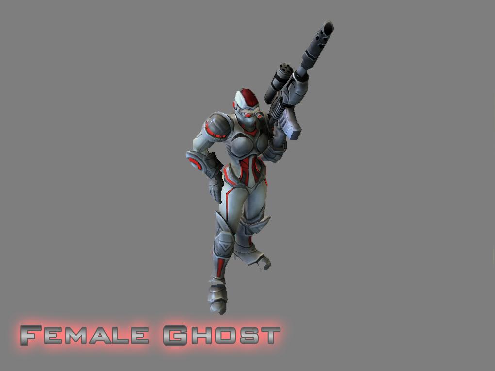 Terran Female Ghost by GhostNova91 on DeviantArt