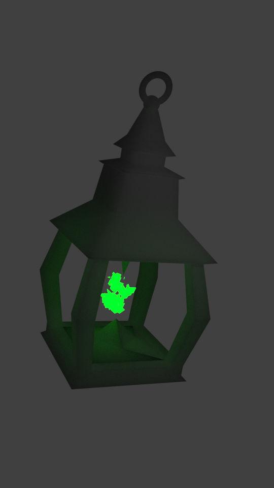River mans lantern.