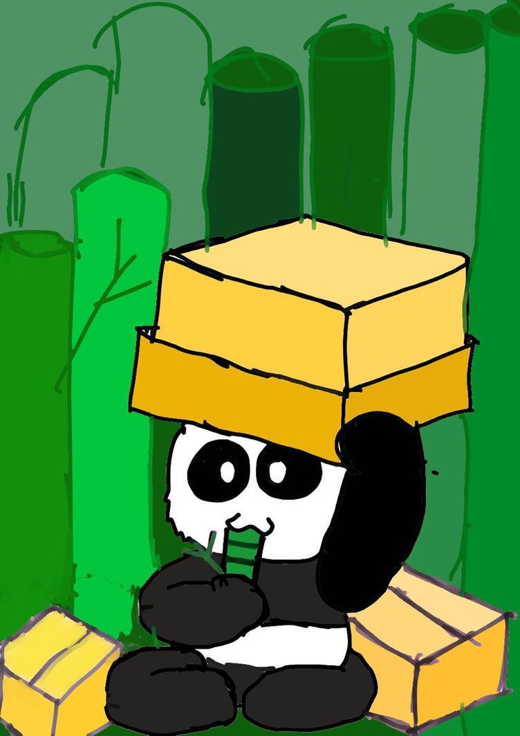 Baby Panda  by noobpinky