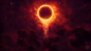 Cosmic Blood Eclipse