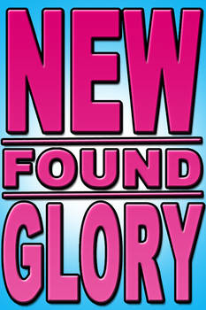 New Found Glory Typography