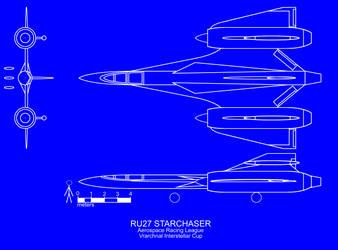 Starchaser Spyplane upgrade by Halpthiuian