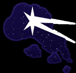 Starry Night's Cutie Mark by Halpthiuian