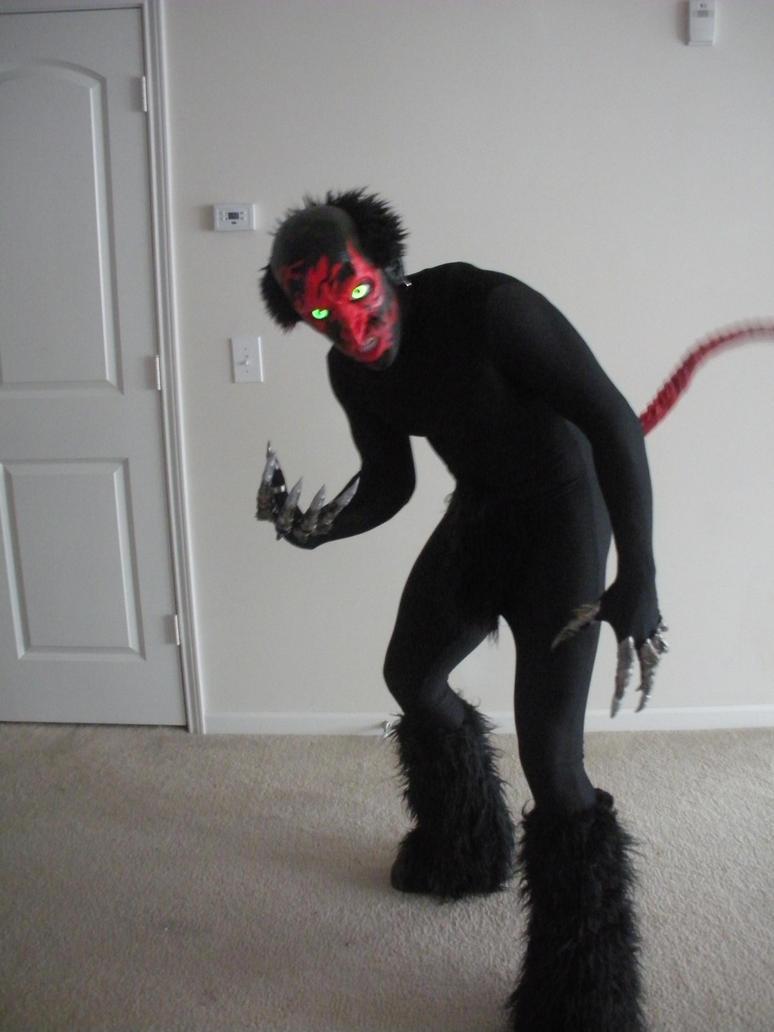 Lipstick-Face Demon Halloween costume by UndeadHead on ...