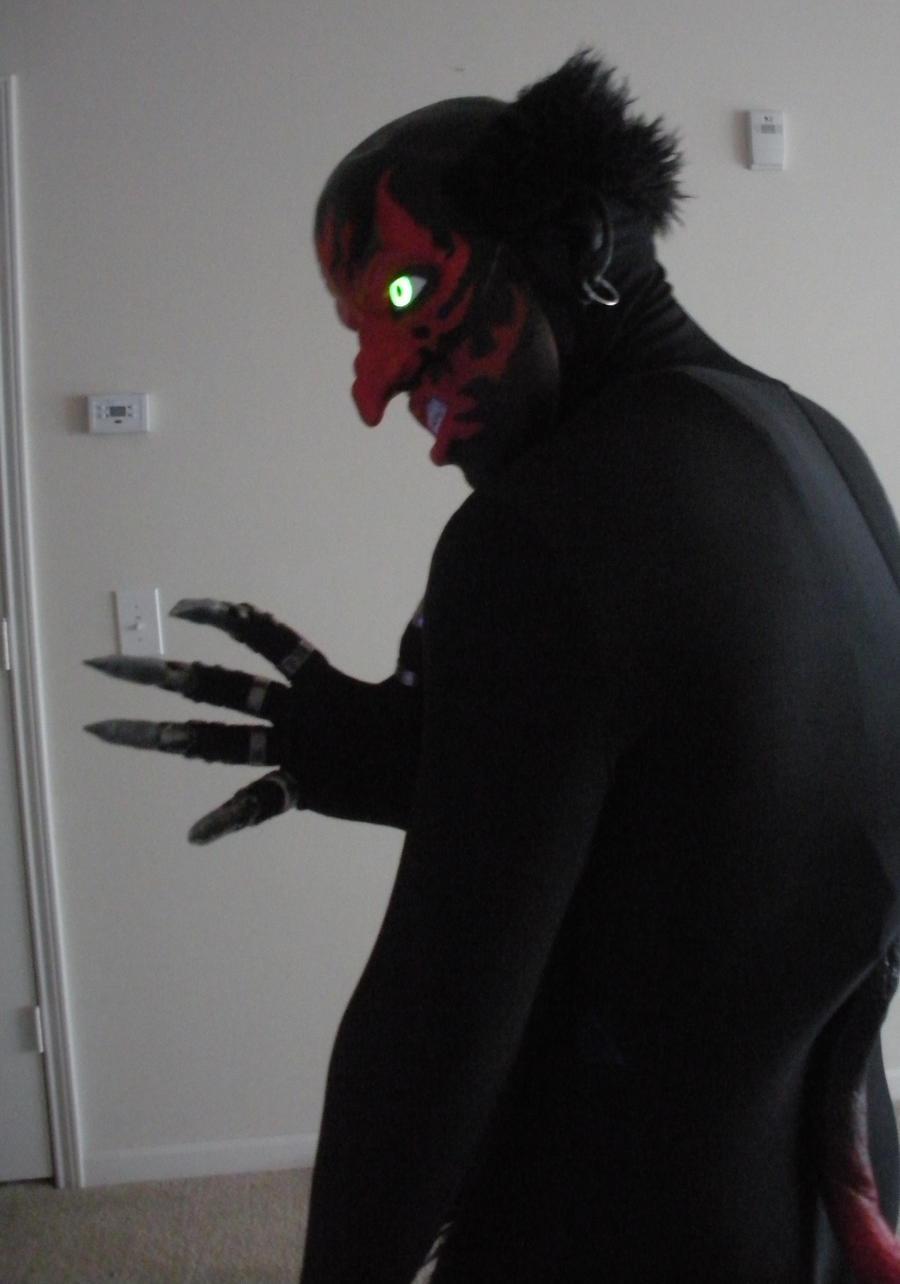 Lipstick Face Demon Halloween Costume By Undeadhead On