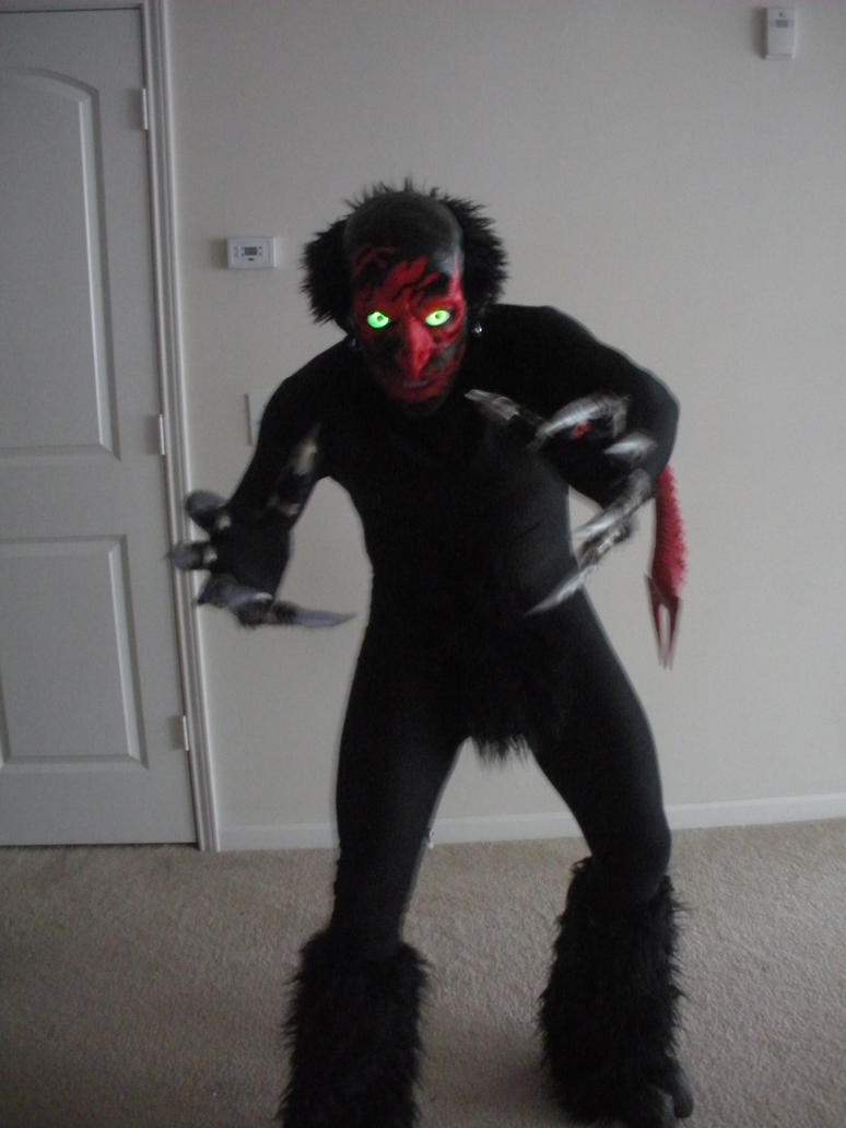 Lipstick-Face Demon Halloween costume by UndeadHead ... & Lipstick-Face Demon Halloween costume by UndeadHead on DeviantArt