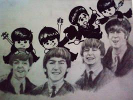 Happy Beatles! by nogooddreamer