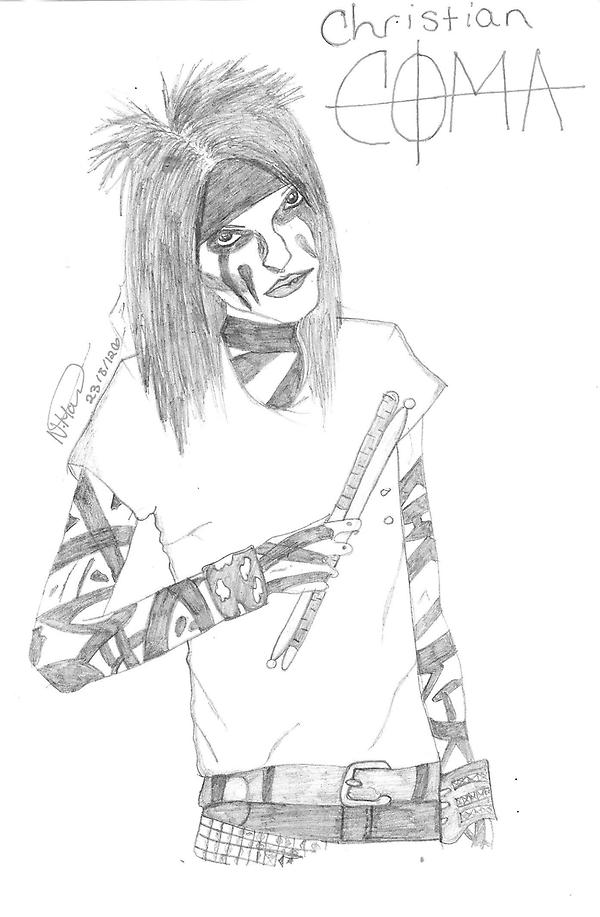 Christian 'CC' Coma- Black Veil Brides by ...