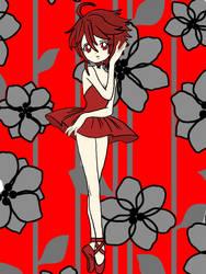 Red Ballerina by FukaseKirby