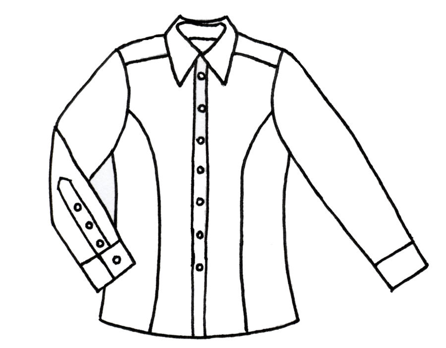 Line Drawing Shirt : Women s western shirt lines by morningglorymeadows on