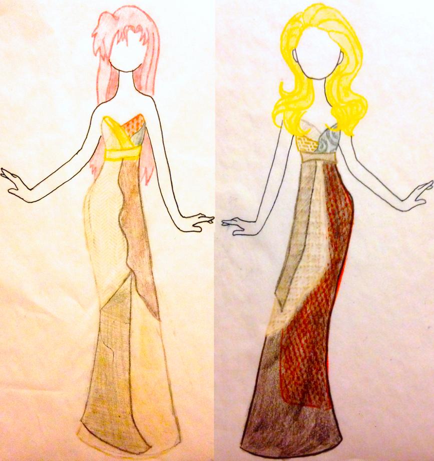 Sally's Bridal Sketches by GodlyJewel
