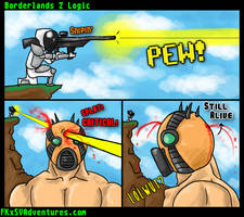 Borderlands 2 Logic on Sniping by fargokraft