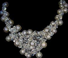 DiamondPearlNecklace by Lokilanie
