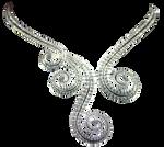 DiamondSwirlNecklace
