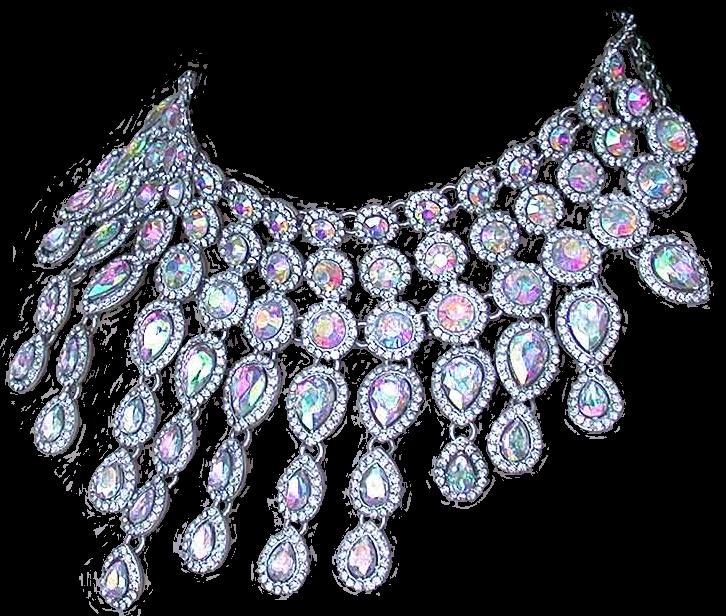 Rainbow Crystal Necklace by Lokilanie