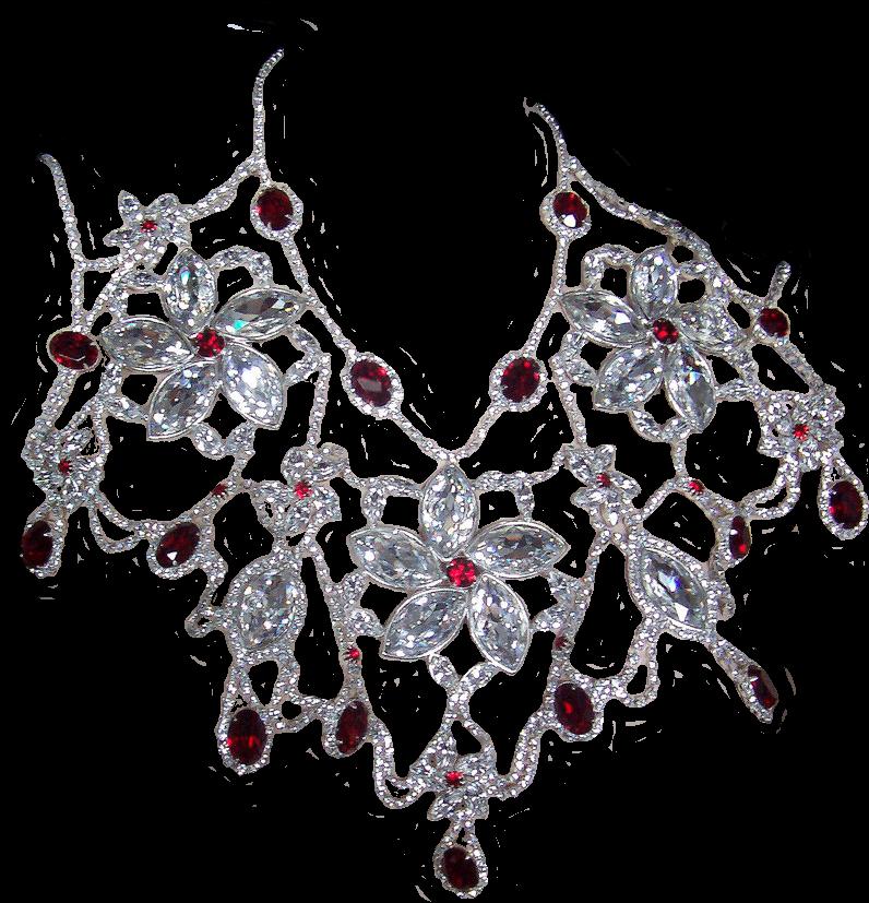 Ruby Diamond Dangle by Lokilanie