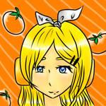 Rinny And Her Oranges. by taliatheotaku