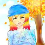 Kotoura- ''I love Fall!'' by taliatheotaku