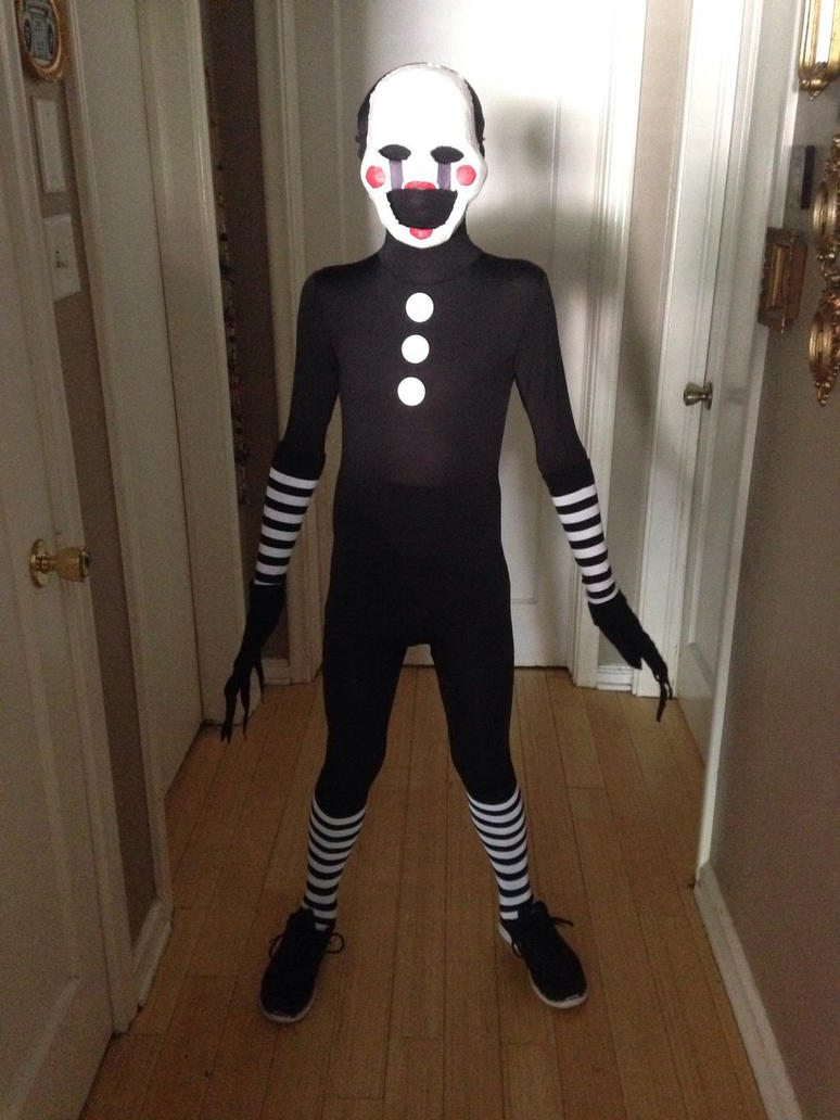 Am the puppet fnaf puppet cosplay by jedisammy0120 on