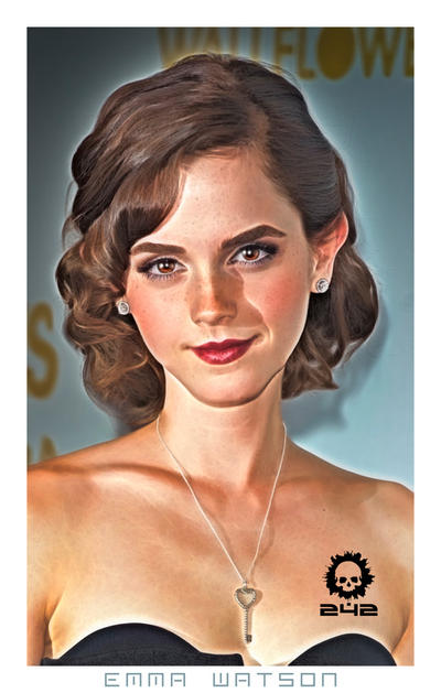 Emma Watson Cartoon 3 by craneo242