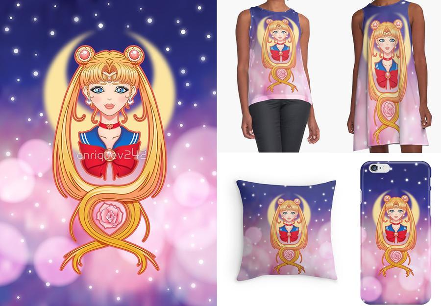 Sailor Moon Prints by craneo242