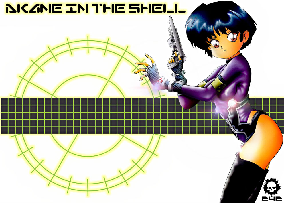 Akane in the Shell by craneo242