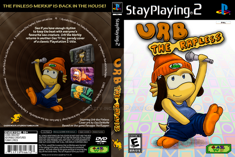 d41689f9ad0 Parappa The Rapper 2 - FULL COVER by GazTV-inc on DeviantArt
