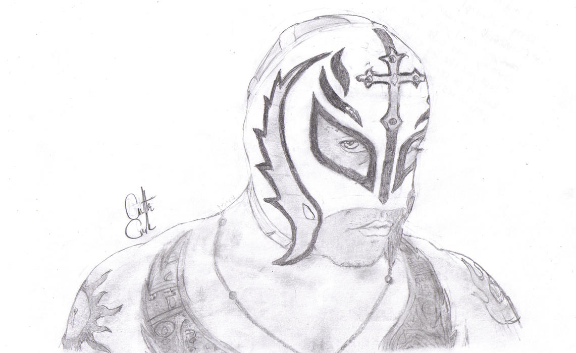Displaying 18u0026gt; Images For - Rey Mysterio Drawing...
