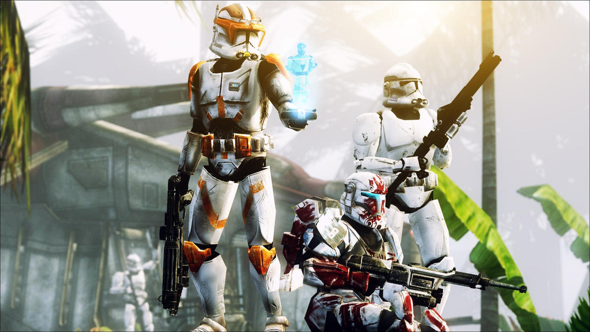 Clone Wars by AngryRabbitGmoD