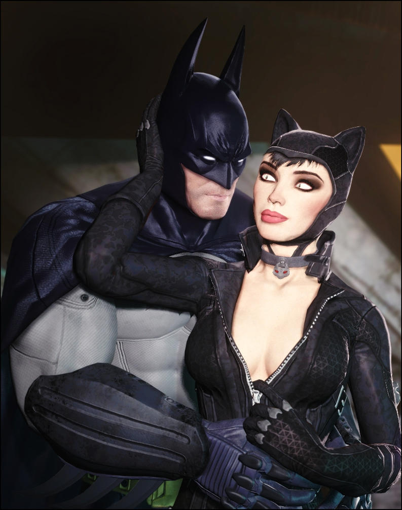 Batman and Catwoman by AngryRabbitGmoD