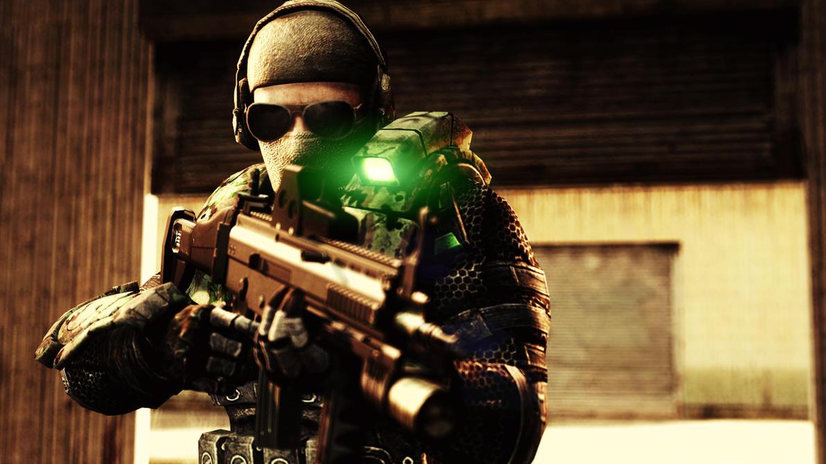 Soldier(by Ninja Nub) by AngryRabbitGmoD