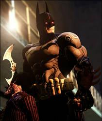 Bat-cyborg by AngryRabbitGmoD