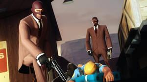 Sniper - a spy!