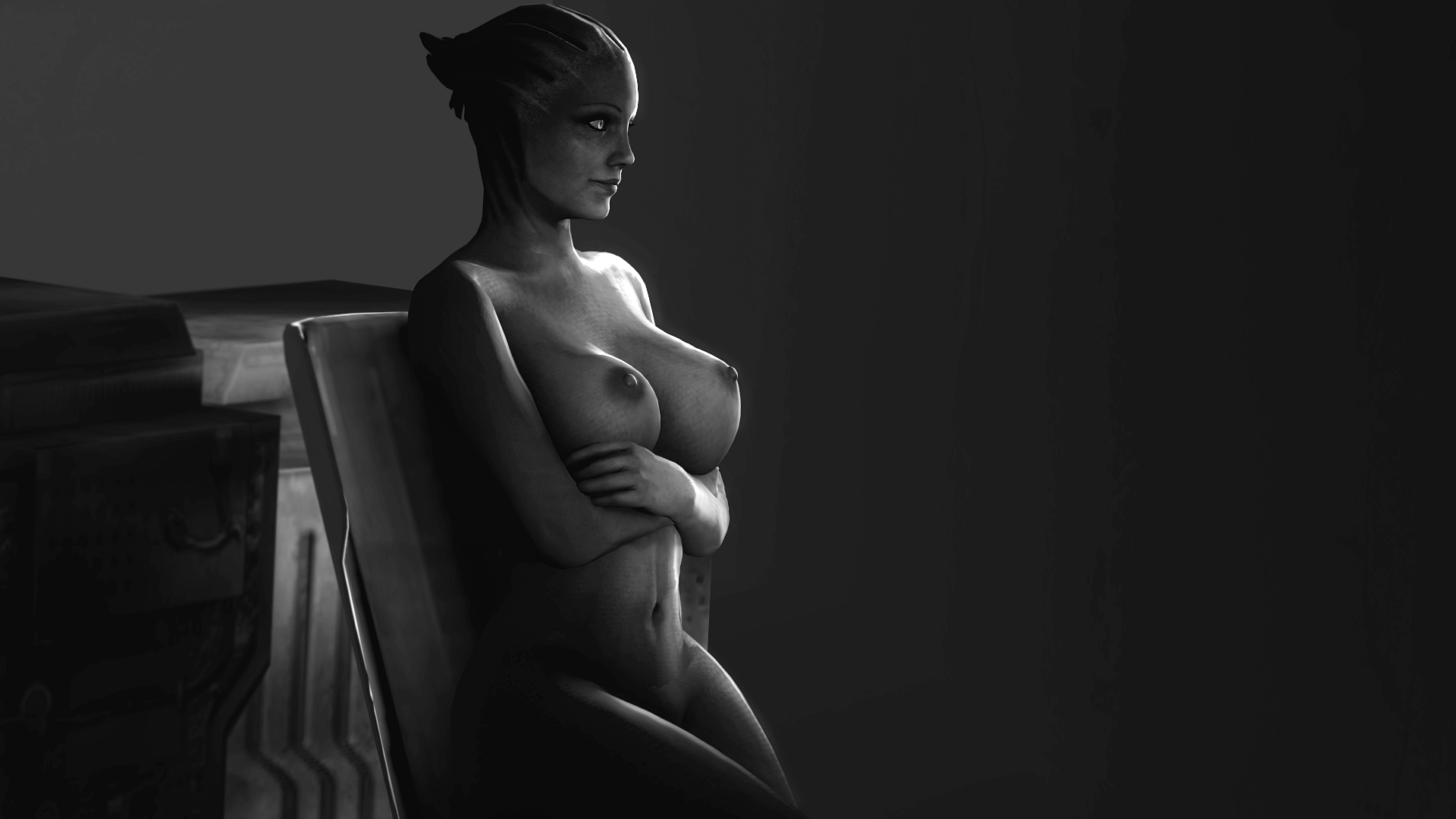 Liara hd naked boobs cartoon pic