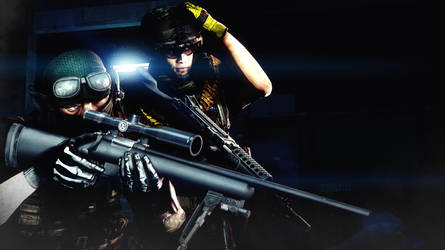 Sniper and Support by AngryRabbitGmoD