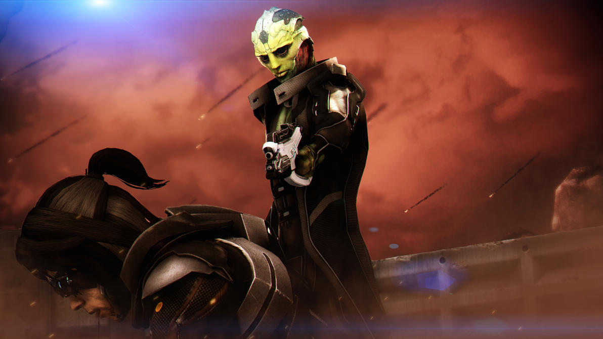 Thane Krios by AngryRabbitGmoD