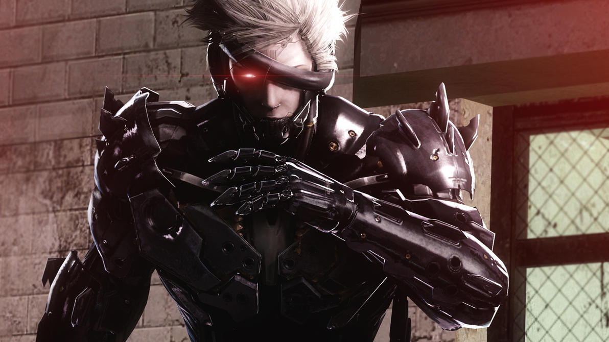 Raiden (Metal Gear Rising) by AngryRabbitGmoD
