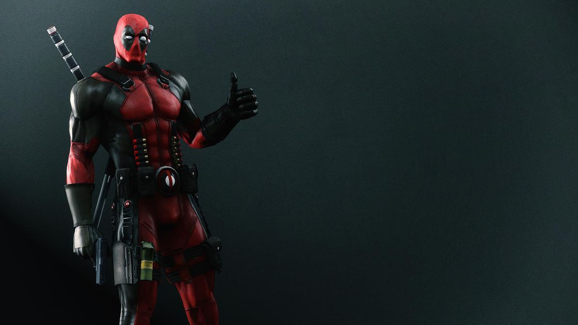 Deadpool Wallpaper by AngryRabbitGmoD