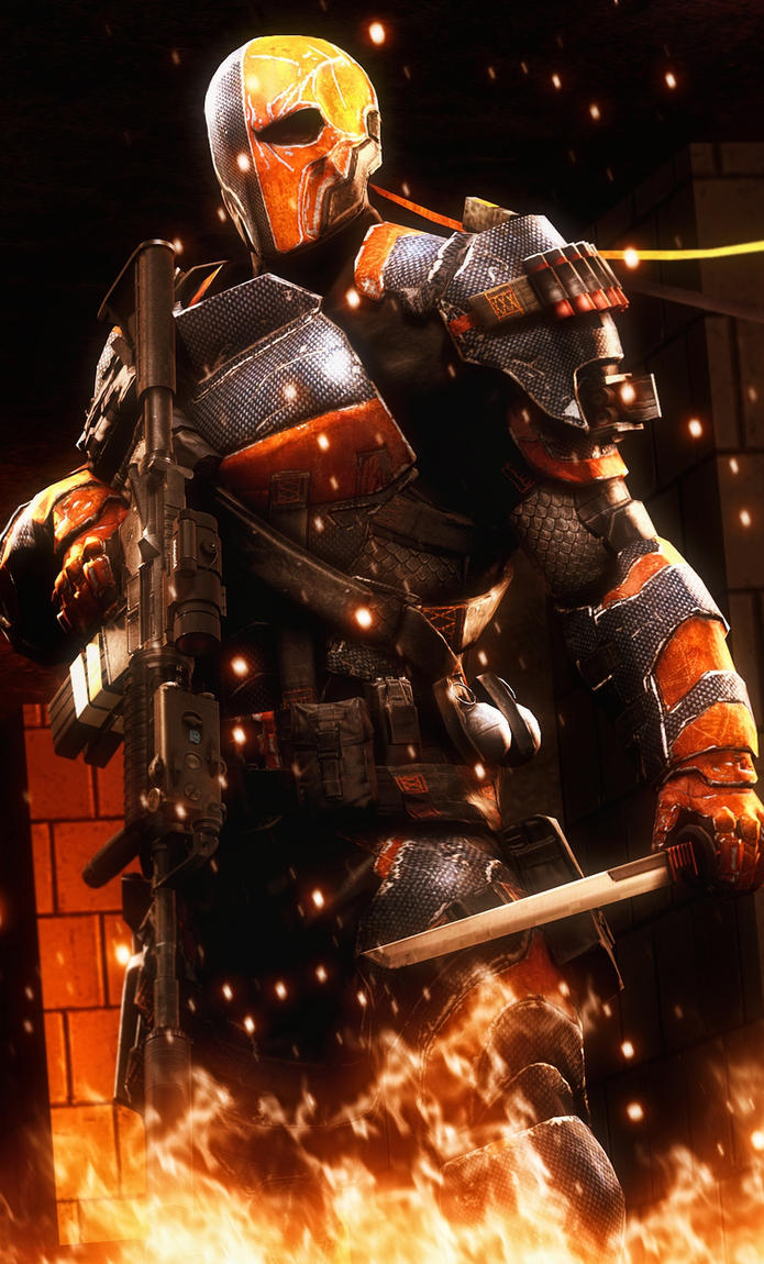 Deathstroke by AngryRabbitGmoD