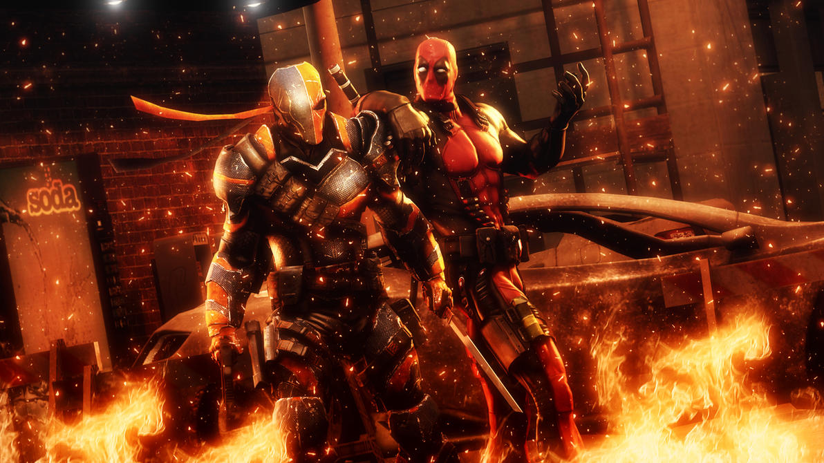 relax deathstroke by angryrabbitgmod on deviantart