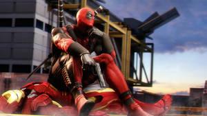 Deadpool vs Iron man p.2