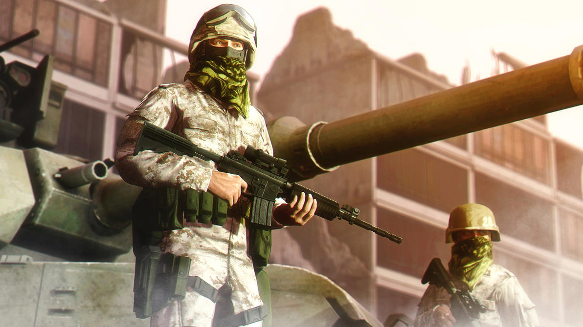 US Marines (test) by AngryRabbitGmoD