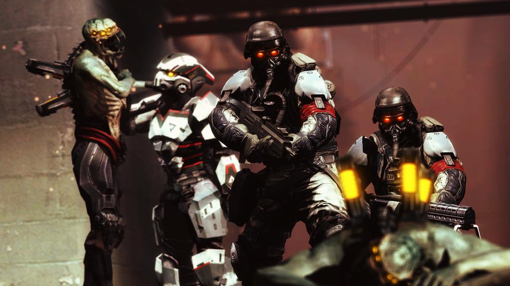 Killzone vs Resistance by AngryRabbitGmoD