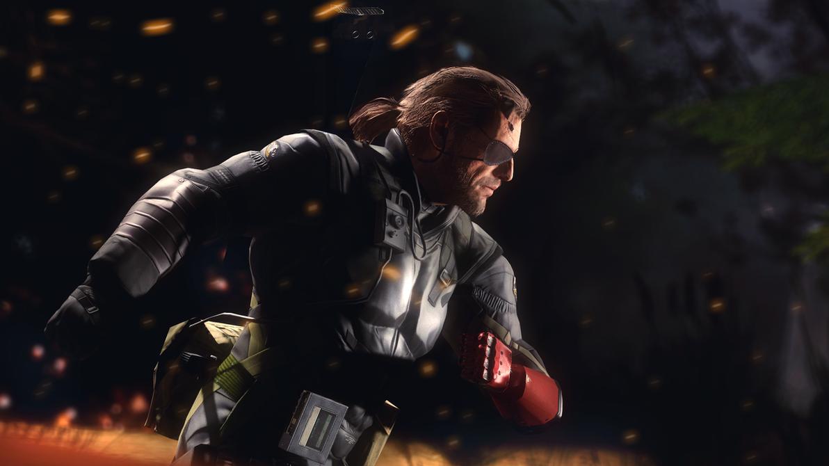 Venom Snake (Big Boss) by AngryRabbitGmoD